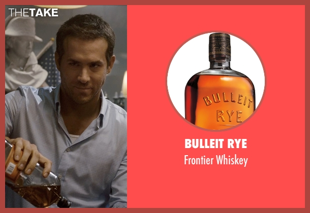 Bulleit Rye whiskey from Self/Less seen with Ryan Reynolds (Young Damian)