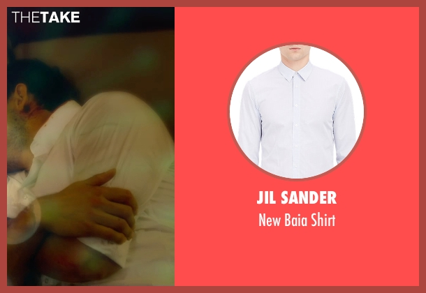 Jil Sander white shirt from Self/Less seen with Ryan Reynolds (Young Damian)