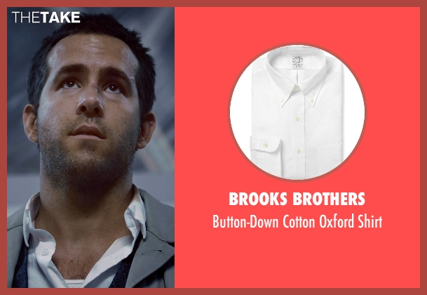 Brooks Brothers white shirt from Self/Less seen with Ryan Reynolds (Young Damian)
