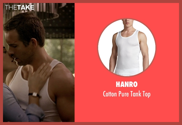 Hanro white top from Self/Less seen with Ryan Reynolds (Young Damian)