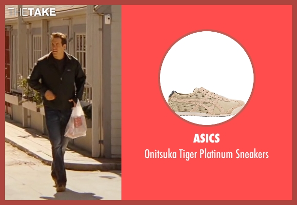 Asics beige sneakers from The Proposal seen with Ryan Reynolds (Andrew Paxton)