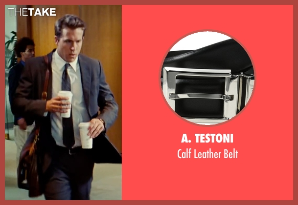 A. Testoni black belt from The Proposal seen with Ryan Reynolds (Andrew Paxton)