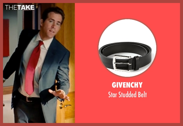 Givenchy black belt from The Proposal seen with Ryan Reynolds (Andrew Paxton)