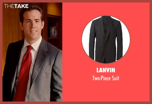 Lanvin black suit from The Proposal seen with Ryan Reynolds (Andrew Paxton)