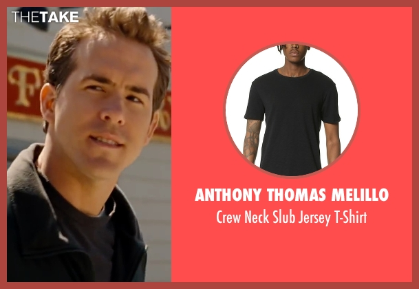 Anthony Thomas Melillo black t-shirt from The Proposal seen with Ryan Reynolds (Andrew Paxton)