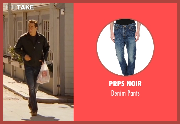 Prps Noir blue pants from The Proposal seen with Ryan Reynolds (Andrew Paxton)