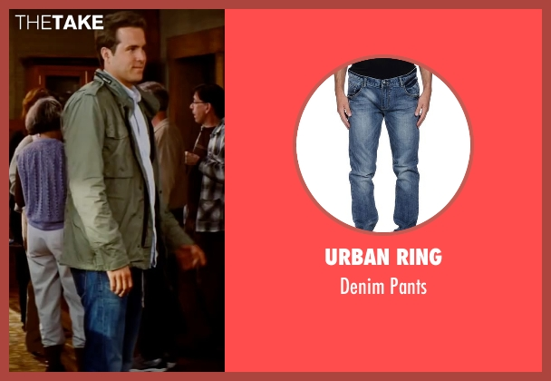 Urban Ring blue pants from The Proposal seen with Ryan Reynolds (Andrew Paxton)