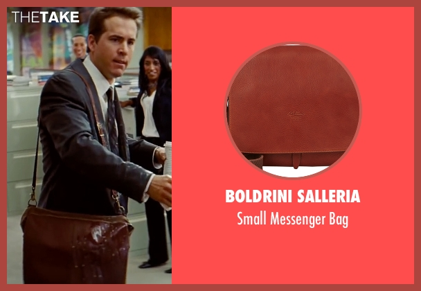 Boldrini Salleria brown bag from The Proposal seen with Ryan Reynolds (Andrew Paxton)