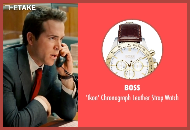 Boss gold watch from The Proposal seen with Ryan Reynolds (Andrew Paxton)