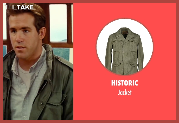 Historic gray jacket from The Proposal seen with Ryan Reynolds (Andrew Paxton)