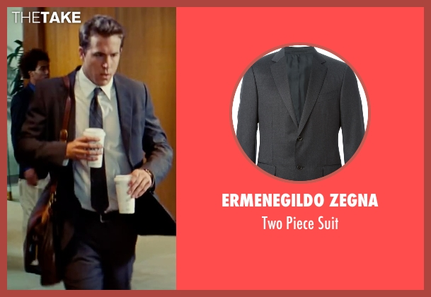 Ermenegildo Zegna gray suit from The Proposal seen with Ryan Reynolds (Andrew Paxton)