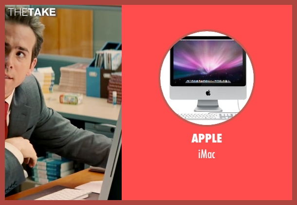 Apple imac from The Proposal seen with Ryan Reynolds (Andrew Paxton)