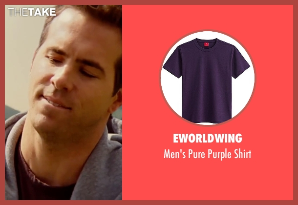 Eworldwing purple shirt from The Proposal seen with Ryan Reynolds (Andrew Paxton)