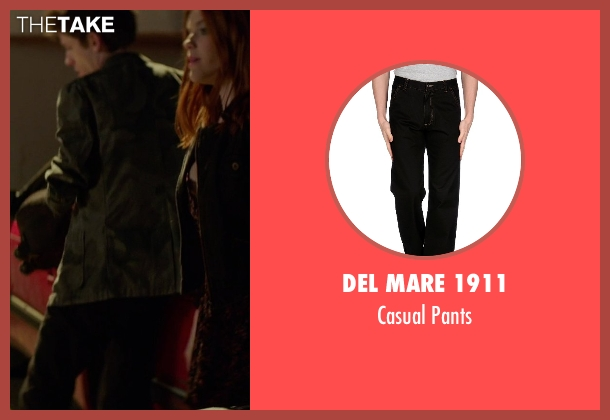 Del Mare 1911 black pants from If I Stay seen with Ryan Stephenson (Willamette Stone Band)
