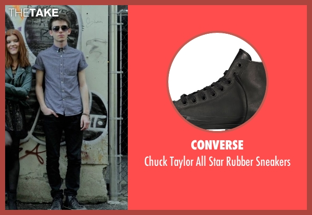 Converse black sneakers from If I Stay seen with Ryan Stephenson (Willamette Stone Band)