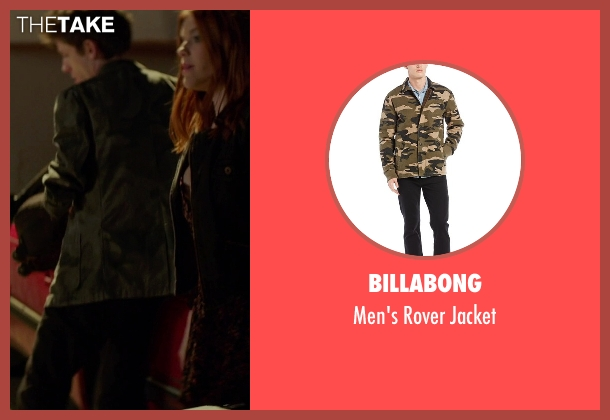 Billabong jacket from If I Stay seen with Ryan Stephenson (Willamette Stone Band)