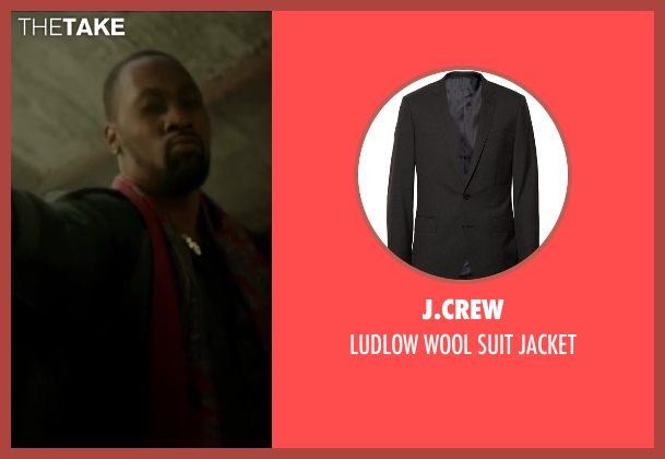 J.CREW jacket from Brick Mansions seen with RZA (Tremaine Alexander)