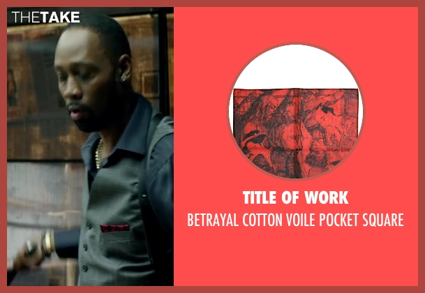 TITLE OF WORK red square from Brick Mansions seen with RZA (Tremaine Alexander)