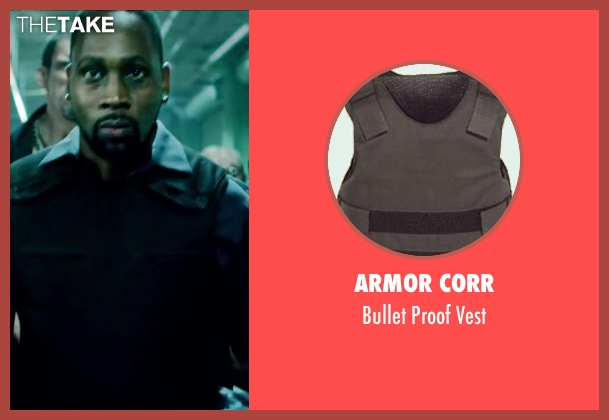 Armor Corr vest from Brick Mansions seen with RZA (Tremaine Alexander)