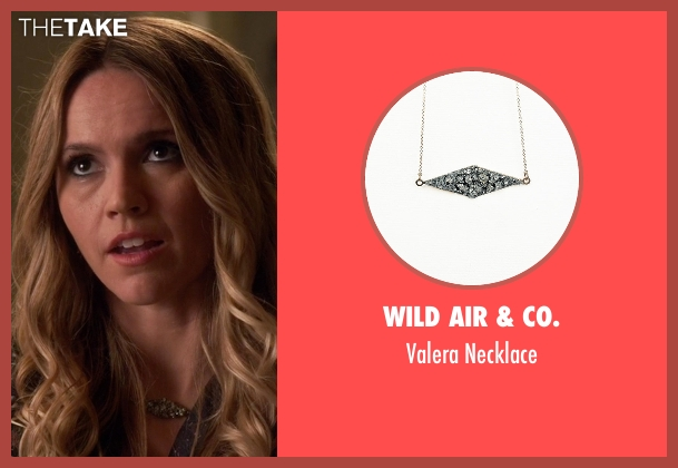 Wild Air & Co. necklace from Pretty Little Liars seen with Sabrina (Lulu Brud)