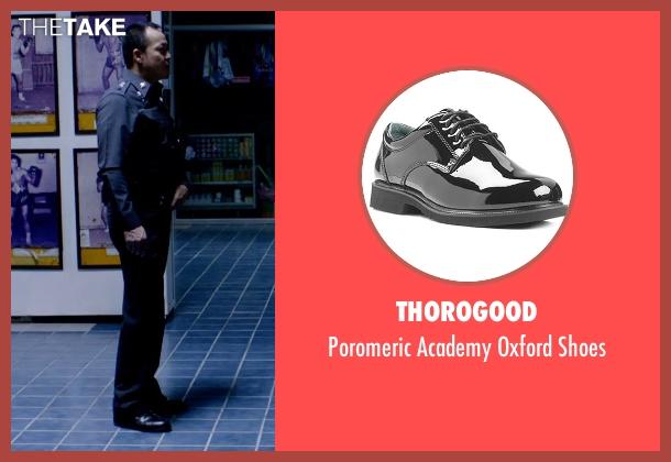 Thorogood black shoes from Only God Forgives seen with Sahajak Boonthanakit (Kim)