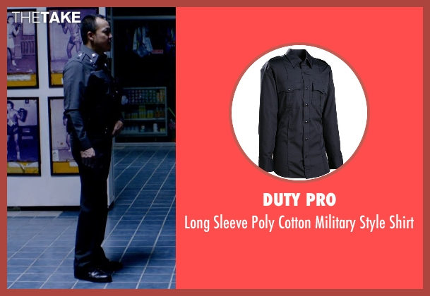 Duty Pro blue shirt from Only God Forgives seen with Sahajak Boonthanakit (Kim)
