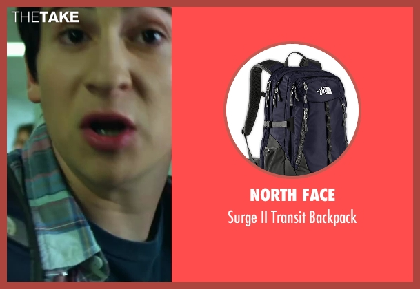 North Face black backpack from Project Almanac seen with Sam Lerner (Quinn Goldberg)