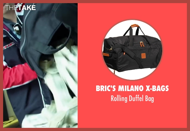 Bric's Milano X-Bags black bag from Project Almanac seen with Sam Lerner (Quinn Goldberg)