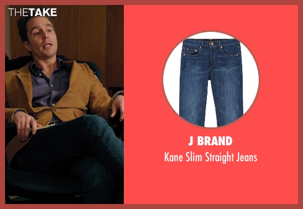 J Brand blue jeans from Laggies seen with Sam Rockwell (Craig)
