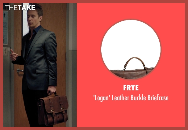 Frye brown briefcase from Laggies seen with Sam Rockwell (Craig)