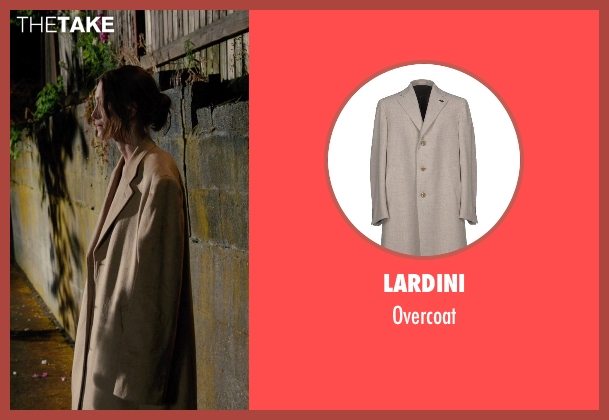 Lardini brown overcoat from Laggies seen with Sam Rockwell (Craig)