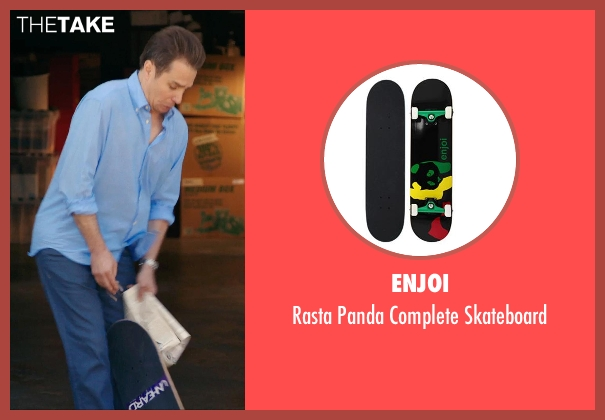 Enjoi skateboard from Laggies seen with Sam Rockwell (Craig)