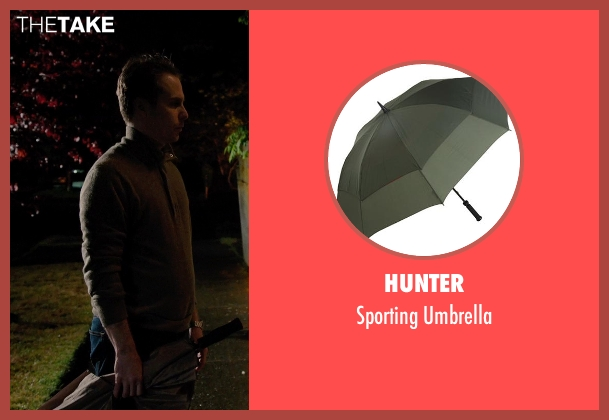 Hunter umbrella from Laggies seen with Sam Rockwell (Craig)