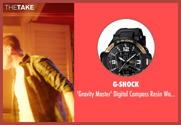 G-Shock black watch from Poltergeist seen with Sam Rockwell (Eric Bowen)