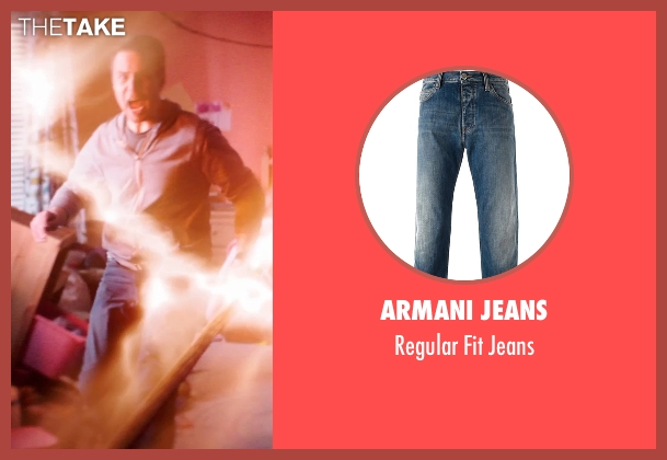 Armani Jeans blue jeans from Poltergeist seen with Sam Rockwell (Eric Bowen)