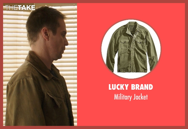 Lucky Brand green jacket from Poltergeist seen with Sam Rockwell (Eric Bowen)