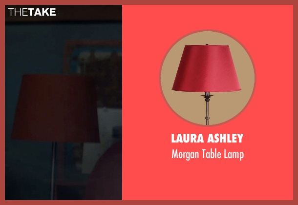 Laura Ashley lamp from Poltergeist seen with Sam Rockwell (Eric Bowen)