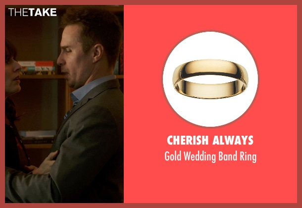 Cherish Always ring from Poltergeist seen with Sam Rockwell (Eric Bowen)