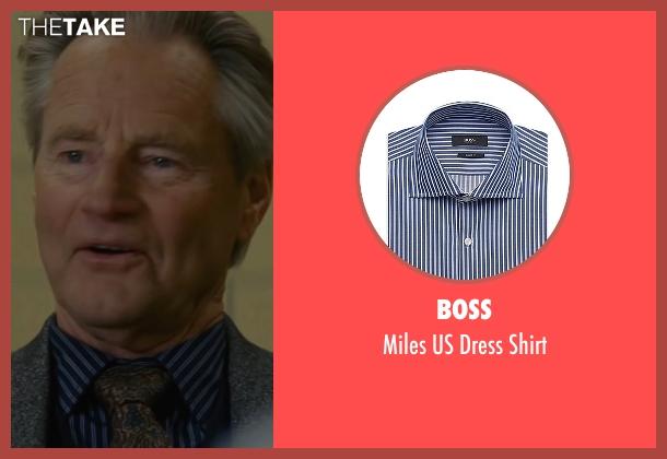 Boss blue shirt from Midnight Special seen with Sam Shepard (Calvin Meyer)