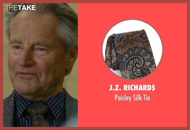 J.Z. Richards brown tie from Midnight Special seen with Sam Shepard (Calvin Meyer)