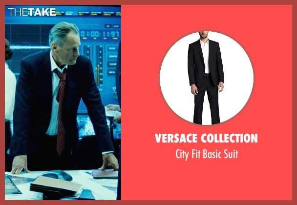Versace Collection black suit from Safe House seen with Sam Shepard (Harlan Whitford)