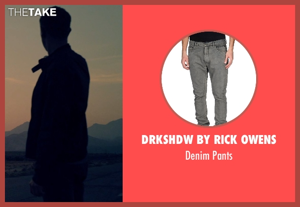 Drkshdw By Rick Owens gray pants from The Counselor seen with Sam Spruell (Unknown Character)
