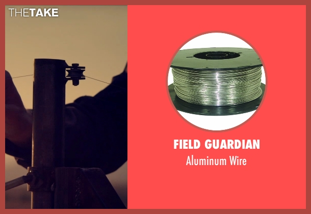 Field Guardian wire from The Counselor seen with Sam Spruell (Wireman)