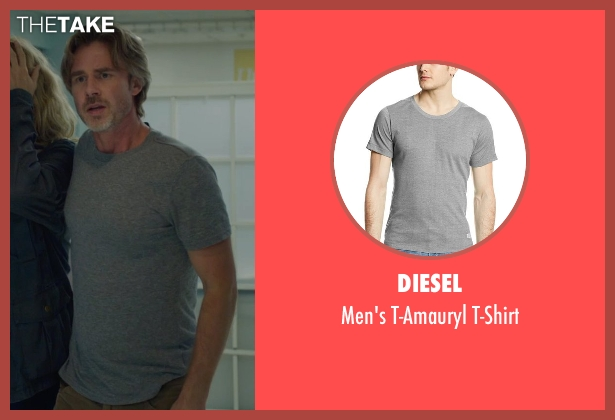 Diesel gray t-shirt from The Fault In Our Stars seen with Sam Trammell (Mr. Lancaster)