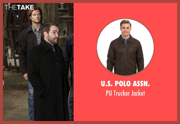 U.S. Polo Assn.  brown jacket from Supernatural seen with Sam Winchester (Jared Padalecki)