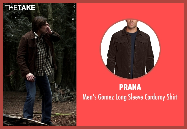 Prana  brown shirt from Supernatural seen with Sam Winchester (Jared Padalecki)