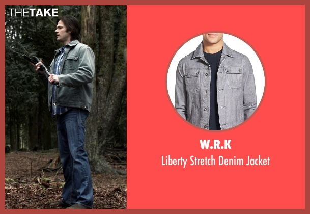 W.R.K gray jacket from Supernatural seen with Sam Winchester (Jared Padalecki)