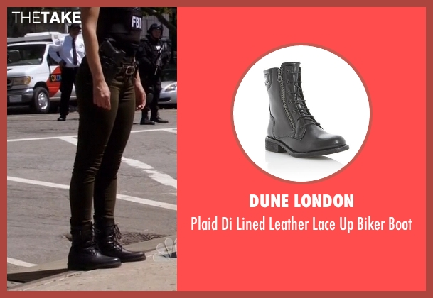Dune London black boot from The Blacklist seen with Samar Navabi (Mozhan Marnò)