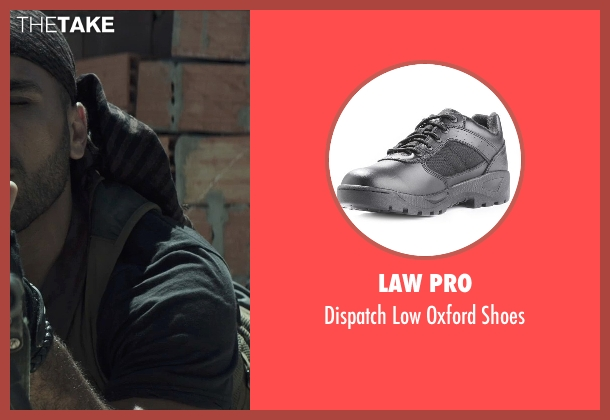 Law Pro black shoes from American Sniper seen with Sammy Sheik (Mustafa)