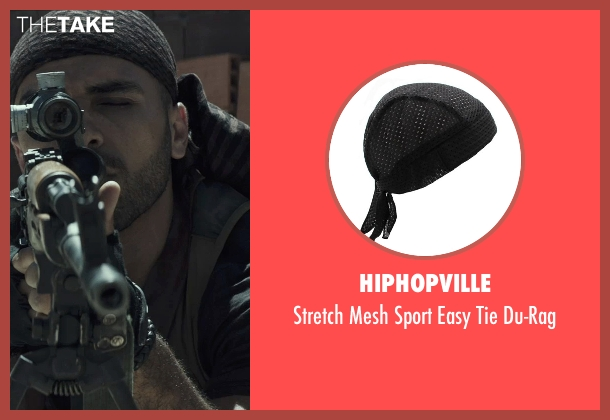 Hiphopville du-rag from American Sniper seen with Sammy Sheik (Mustafa)